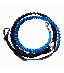 TwinCross+ - 2-dog canicross dog sledding leash